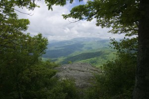 John's River Valley from The Blowing Rock, Blowing Rock, NC